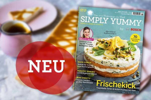 Neues Simply Yummy Magazin + kleiner Vorgeschmack
